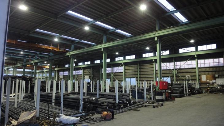 大規模工事対応の機械設備